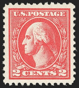 Sale Number 1163, Lot Number 398, 1918-20 Offset Printing Issues (Scott 525-536)2c Carmine, Ty. VI (528A), 2c Carmine, Ty. VI (528A)