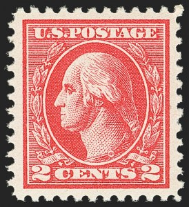Sale Number 1163, Lot Number 399, 1918-20 Offset Printing Issues (Scott 525-536)2c Carmine, Ty. VII (528B), 2c Carmine, Ty. VII (528B)