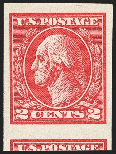 Sale Number 1163, Lot Number 401, 1918-20 Offset Printing Issues (Scott 525-536)2c Carmine, Ty. VII, Imperforate (534B), 2c Carmine, Ty. VII, Imperforate (534B)