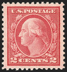 Sale Number 1163, Lot Number 410, 1919-20 Issues (Scott 537-550)2c Carmine Rose, Ty. III, Rotary (546), 2c Carmine Rose, Ty. III, Rotary (546)