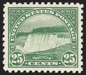 Sale Number 1163, Lot Number 422, 1922-29 Issues (Scott 551-621)25c Yellow Green (568), 25c Yellow Green (568)