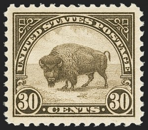 Sale Number 1163, Lot Number 423, 1922-29 Issues (Scott 551-621)30c Olive Brown (569), 30c Olive Brown (569)