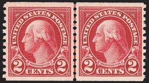 Sale Number 1163, Lot Number 437, 1922-29 Issues (Scott 551-621)2c Carmine Lake, Ty. I (599b), 2c Carmine Lake, Ty. I (599b)