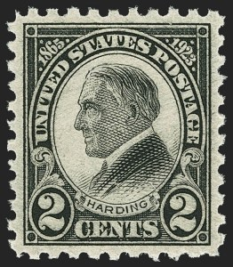 Sale Number 1163, Lot Number 438, 1922-29 Issues (Scott 551-621)2c Harding, Perf 11, Rotary Perf 10 (610, 612), 2c Harding, Perf 11, Rotary Perf 10 (610, 612)
