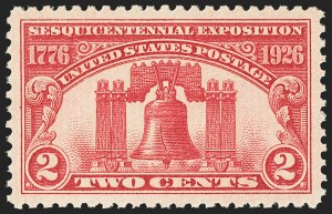 Sale Number 1163, Lot Number 441, 1925 and Later Issues (Scott 627-893)2c Sesquicentennial (627), 2c Sesquicentennial (627)