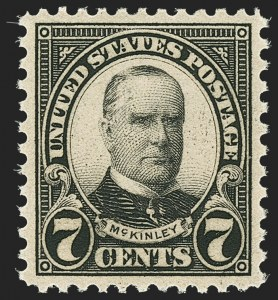 Sale Number 1163, Lot Number 456, 1925 and Later Issues (Scott 627-893)7c Kans. Ovpt. (665), 7c Kans. Ovpt. (665)