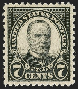 Sale Number 1163, Lot Number 463, 1925 and Later Issues (Scott 627-893)7c Nebr. Ovpt. (676), 7c Nebr. Ovpt. (676)
