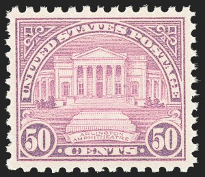 Sale Number 1163, Lot Number 469, 1925 and Later Issues (Scott 627-893)50c Lilac (701), 50c Lilac (701)