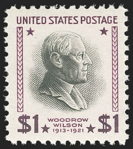 Sale Number 1163, Lot Number 471, 1925 and Later Issues (Scott 627-893)-1/2c-$5.00 1938 Presidential (803-834, 832b), -1/2c-$5.00 1938 Presidential (803-834, 832b)