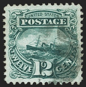 Sale Number 1163, Lot Number 82, 1869 Pictorial Issue (Scott 112-122)12c Green (117), 12c Green (117)