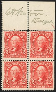 Sale Number 1165, Lot Number 128, 1902-08 Issue: Issued Stamps, 1c-50c2c Carmine (301), 2c Carmine (301)