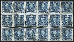 Sale Number 1165, Lot Number 141, 1902-08 Issue: Issued Stamps, $1.00-$5.00$2.00 Dark Blue (312), $2.00 Dark Blue (312)