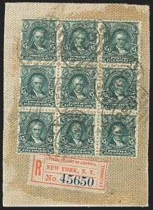 Sale Number 1165, Lot Number 146, 1902-08 Issue: Issued Stamps, $1.00-$5.00$5.00 Dark Green (313), $5.00 Dark Green (313)