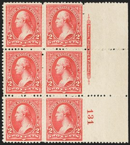 Sale Number 1165, Lot Number 18, 1894-98 Bureau Issue: Issued Stamps and Covers2c Carmine, Ty. II (251), 2c Carmine, Ty. II (251)