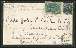Sale Number 1165, Lot Number 188, 1902-08 Issue: Covers, 1c-15c5c Blue (304), 5c Blue (304)