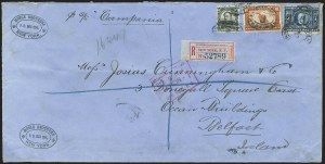Sale Number 1165, Lot Number 205, 1902-08 Issue: Covers, 50c-$5.00$1.00 Black (311), $1.00 Black (311)