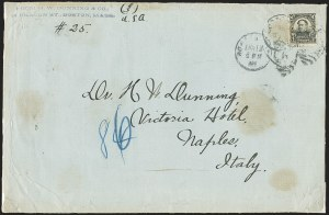 Sale Number 1165, Lot Number 206, 1902-08 Issue: Covers, 50c-$5.00$1.00 Black (311), $1.00 Black (311)