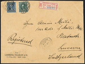 Sale Number 1165, Lot Number 212, 1902-08 Issue: Covers, 50c-$5.00$2.00 Dark Blue, $5.00 Dark Green (312-313), $2.00 Dark Blue, $5.00 Dark Green (312-313)