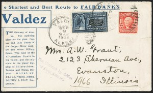 Sale Number 1165, Lot Number 218, 1902-08 Issue: Covers, 2c Shield2c Carmine, Ty. I, (319), 2c Carmine, Ty. I, (319)