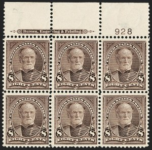 Sale Number 1165, Lot Number 24, 1894-98 Bureau Issue: Issued Stamps and Covers8c Violet Brown (272), 8c Violet Brown (272)