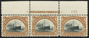 Sale Number 1165, Lot Number 86, 1901 Pan-American Issue: Issued Stamps10c Pan-American (299), 10c Pan-American (299)