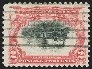 Sale Number 1165, Lot Number 90, 1901 Pan-American Issue: Inverts2c Pan-American, Center Inverted (295a), 2c Pan-American, Center Inverted (295a)