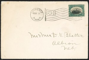 Sale Number 1165, Lot Number 93, 1901 Pan-American Issue: Covers1c Pan-American (294), 1c Pan-American (294)
