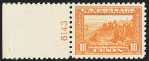 Sale Number 1166, Lot Number 1002, 1913-15 Panama-Pacific Issue (Scott 397-404)10c Panama-Pacific, Perf 10 (404), 10c Panama-Pacific, Perf 10 (404)