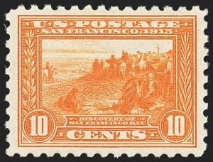 Sale Number 1166, Lot Number 1003, 1913-15 Panama-Pacific Issue (Scott 397-404)10c Panama-Pacific, Perf 10 (404), 10c Panama-Pacific, Perf 10 (404)