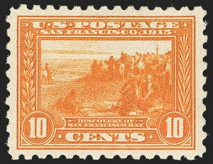 Sale Number 1166, Lot Number 1005, 1913-15 Panama-Pacific Issue (Scott 397-404)10c Panama-Pacific, Perf 10 (404), 10c Panama-Pacific, Perf 10 (404)