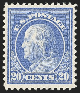 Sale Number 1166, Lot Number 1013, 1912-14 Washington-Franklin Issue (Scott 405-423)8c-30c 1912-14 Issue (414-420), 8c-30c 1912-14 Issue (414-420)