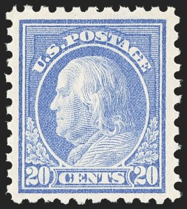 Sale Number 1166, Lot Number 1025, 1913-15 Washington-Franklin Issues (Scott 424-461)1c-20c 1913-15 Issue (424-438), 1c-20c 1913-15 Issue (424-438)