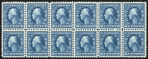 Sale Number 1166, Lot Number 1027, 1913-15 Washington-Franklin Issues (Scott 424-461)5c Blue (428), 5c Blue (428)