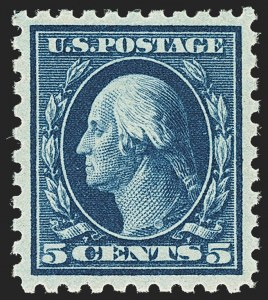 Sale Number 1166, Lot Number 1049, 1916-17 Issues (Scott 462-480)5c Blue (466), 5c Blue (466)