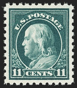 Sale Number 1166, Lot Number 1057, 1916-17 Issues (Scott 462-480)11c Dark Green (473), 11c Dark Green (473)