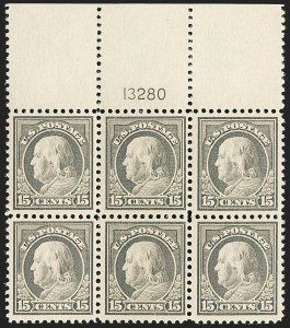 Sale Number 1166, Lot Number 1086, 1917-20 Issues (Scott 498-524)15c Gray (514), 15c Gray (514)