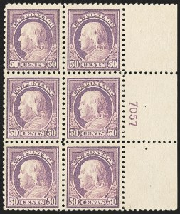 Sale Number 1166, Lot Number 1089, 1917-20 Issues (Scott 498-524)50c Red Violet (517), 50c Red Violet (517)