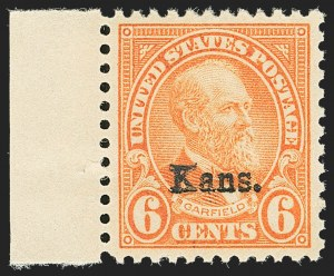 Sale Number 1166, Lot Number 1165, 1925 and Later Issues (Scott 628-1529)6c Kans. Ovpt. (664), 6c Kans. Ovpt. (664)
