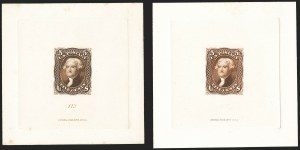 Sale Number 1166, Lot Number 510, Essays, Proofs and Specimens5c Brown, Large Die Proof on India (76P1), 5c Brown, Large Die Proof on India (76P1)
