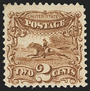 Sale Number 1166, Lot Number 734, 1869 Pictorial Issue (Scott 112-122)2c Brown (113), 2c Brown (113)