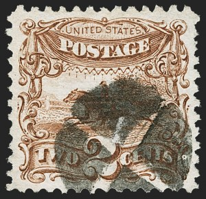 Sale Number 1166, Lot Number 736, 1869 Pictorial Issue (Scott 112-122)2c Brown (113), 2c Brown (113)