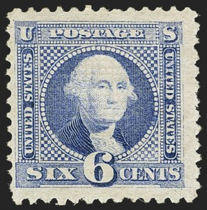 Sale Number 1166, Lot Number 737, 1869 Pictorial Issue (Scott 112-122)6c Ultramarine (115), 6c Ultramarine (115)