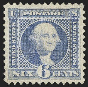 Sale Number 1166, Lot Number 738, 1869 Pictorial Issue (Scott 112-122)6c Ultramarine (115), 6c Ultramarine (115)