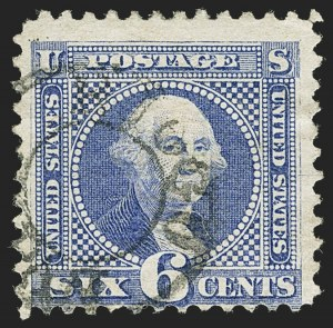 Sale Number 1166, Lot Number 739, 1869 Pictorial Issue (Scott 112-122)6c Ultramarine (115), 6c Ultramarine (115)