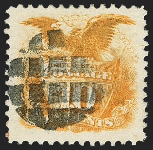 Sale Number 1166, Lot Number 740, 1869 Pictorial Issue (Scott 112-122)10c Yellow (116), 10c Yellow (116)