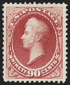 Sale Number 1166, Lot Number 784, 1870-73 National and Continental Bank Note Co. Issues (Scott 134-166)90c Carmine (155), 90c Carmine (155)
