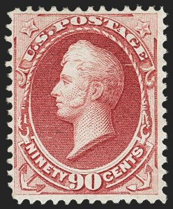 Sale Number 1166, Lot Number 785, 1870-73 National and Continental Bank Note Co. Issues (Scott 134-166)90c Carmine (155), 90c Carmine (155)