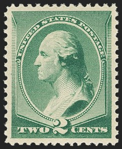 Sale Number 1166, Lot Number 809, 1875-88 Bank Note Co. Issues (Scott 178-218)2c Green (213), 2c Green (213)