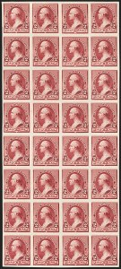 Sale Number 1166, Lot Number 816, 1890-93 Issue (Scott 219-229)2c Carmine, Imperforate (220d), 2c Carmine, Imperforate (220d)