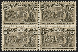 Sale Number 1166, Lot Number 828, 1893 Columbian Issue (Scott 230-245)2c-10c Columbians (231, 233-234, 237), 2c-10c Columbians (231, 233-234, 237)